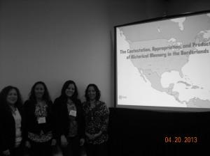 Cynthia Renteria, Jessica DeJohn Bergen,Joanna M Comacho Escobar, Carolina Monsivais (left to right)