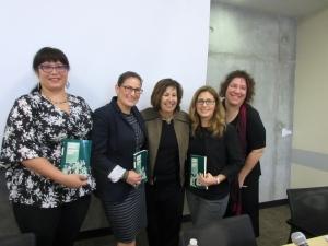 Mayeli Blackwell, Margie Brown-Coronel,  Vicki Ruiz, Marisela R. Chávez, and Sharon Block