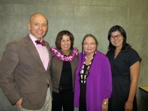 Frank Barajas, Annette Reed, Vicki Ruiz, and Natalia Molina