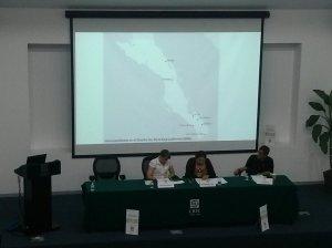 Catherine Andrews, Edith González Cruz, and José Enciso