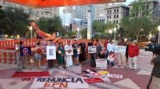 Vigilia por la Paz en Oaxaca in El Paso, TX